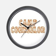 Camp Counselor Wall Clock