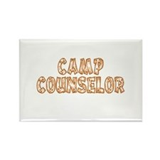 Camp Counselor Rectangle Magnet