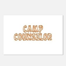 Camp Counselor Postcards (Package of 8)