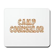 Camp Counselor Mousepad