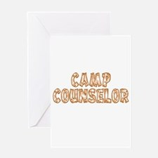 Camp Counselor Greeting Card