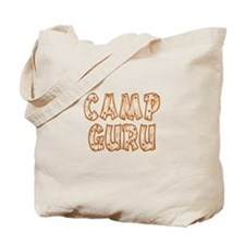 Camp Guru Tote Bag