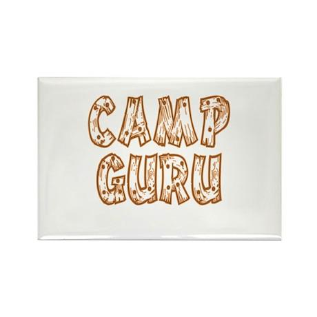 Camp Guru Rectangle Magnet