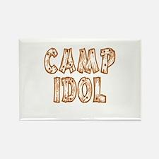 Camp Idol Rectangle Magnet