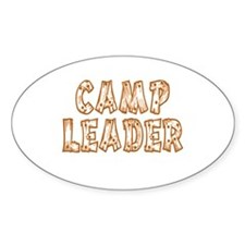 Camp Leader Oval Decal
