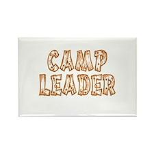 Camp Leader Rectangle Magnet