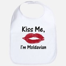 Kiss Me, I'm Moldavian Bib