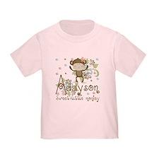 Addyson Sweet little Monkey T