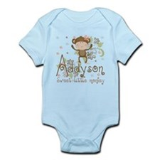 Addyson Sweet little Monkey Infant Bodysuit