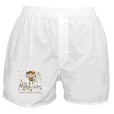 Addyson Sweet little Monkey Boxer Shorts