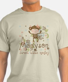 Addyson Sweet little Monkey T-Shirt