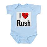 I Love Rush Infant Creeper