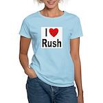 I Love Rush Women's Pink T-Shirt