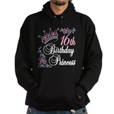 16th Birthday Princess Hoodie