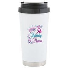 5th Birthday Princess Travel Mug