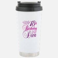 18th Birthday Diva Travel Mug