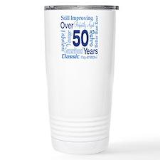 Over 50 years, 50th Birthday Travel Mug