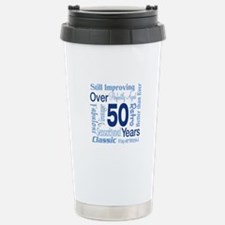 Over 50 years, 50th Birthday Travel Mug
