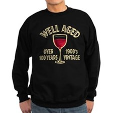 Over 100th Birthday Sweatshirt