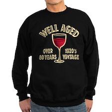 Over 80th Birthday Sweatshirt