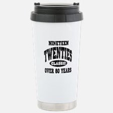 1920's Classic Stainless Steel Travel Mug