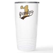 #1 Grandpa Travel Mug