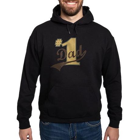 #1 Dad Hoodie (dark)