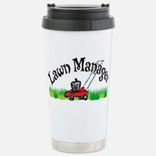 Lawn Manager Stainless Steel Travel Mug