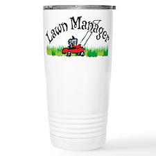 Lawn Manager Travel Coffee Mug