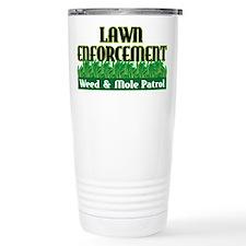 Lawn Enforcement Travel Mug
