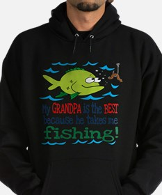 My Dad Takes Me Fishing Hoodie