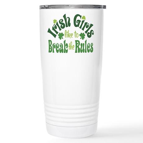 Irish Girls Stainless Steel Travel Mug