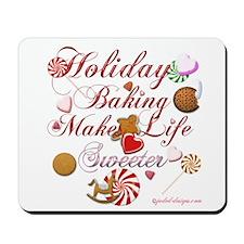 Holiday Baking Mousepad
