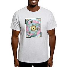 SCAT -- GIVE & GET Ash Grey T-Shirt