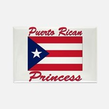 Puerto rican pride Rectangle Magnet