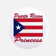 "Puerto rican pride 3.5"" Button"