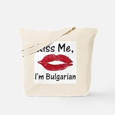 Kiss Me, I'm Bulgarian Tote Bag