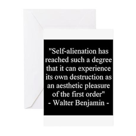 2-selfalien Greeting Cards