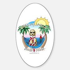 DoodleHeadz Logo Oval Decal