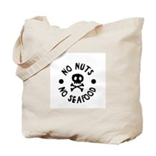 No Nuts No Seafood Allergy Tote Bag