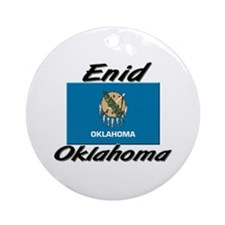 Enid Oklahoma Ornament (Round)