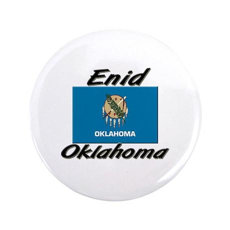 "Enid Oklahoma 3.5"" Button"