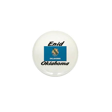Enid Oklahoma Mini Button