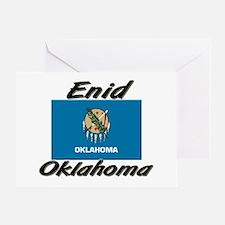 Enid Oklahoma Greeting Card