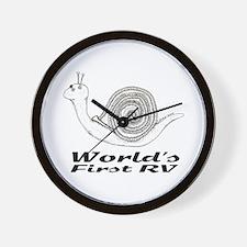 World's First RV Wall Clock