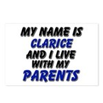 my name is clarice and I live with my parents Post