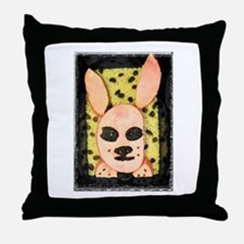 Cute Weird food Throw Pillow