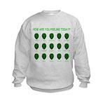 Alien Moods Kids Sweatshirt