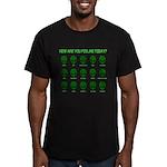 Alien Moods Men's Fitted T-Shirt (dark)