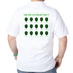 Alien Moods Golf Shirt